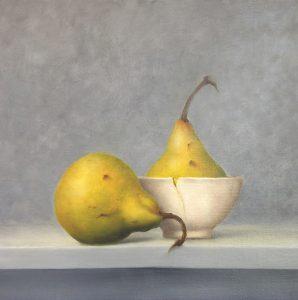 Pears. Oil